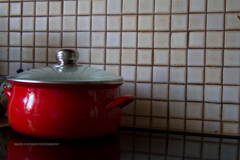 Red Cooking Pot