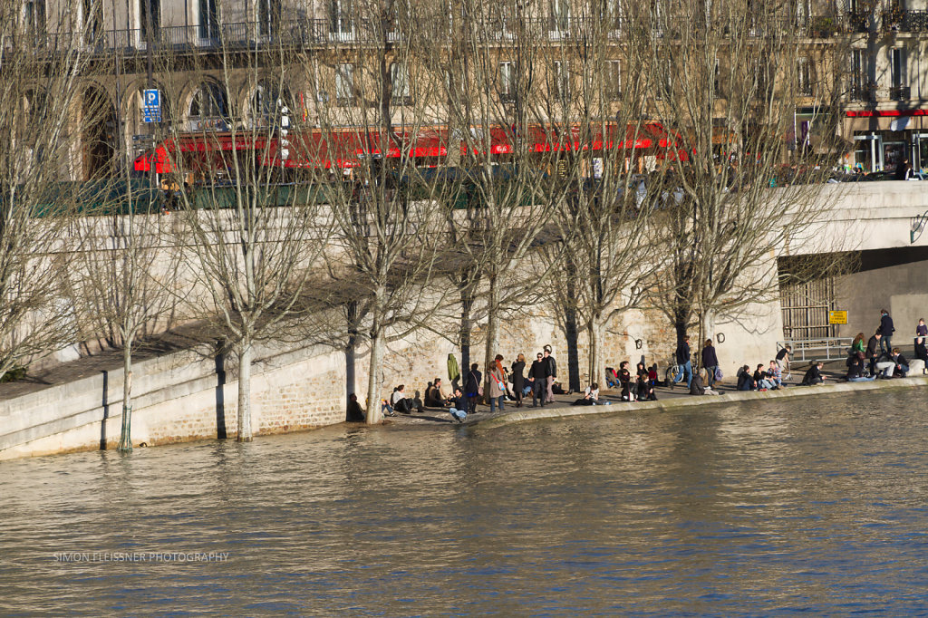 Sonntagswetter an der Seine